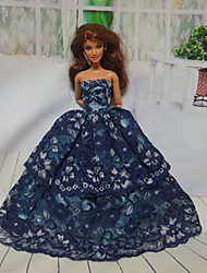 cheap -Party / Evening Dresses For Barbiedoll Lace / Satin Dress For Girl's Doll Toy