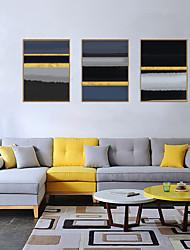cheap -Framed Art Print Framed Set - Abstract PS Oil Painting Wall Art