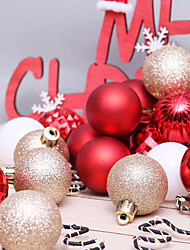 cheap -Ornaments Holiday PVC Round Party Christmas Decoration