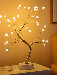 cheap -Tree Shape Decot Light Staycation Night Light Home decoration Bedroom Living Room Creative USB 1 set