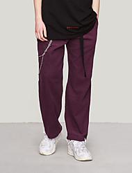 cheap -Men's Women's Running Pants Track Pants Sports Pants Corduroy Pants Athletic Pants / Trousers Athleisure Wear Bottoms Retro Fleece Corduroy Sport Running Walking School Windproof Warm Soft Purple