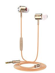 Недорогие -Langsdom M400 Наушники-вкладыши Проводное Спорт и фитнес С подавлением шума Стерео С регулятором громкости