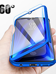 cheap -360 Full Protective Cover Phone Case For Xiaomi 9T Pro Mi 9T Redmi K20 Pro K20 Mi 9 SE Mi 8 Lite Redmi S2 A2 Pocophone F1 Hard PC Cover With Glass