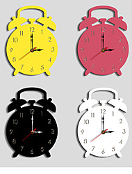 cheap -M.Spakrling Home decoration children's alarm clock mute cartoon acrylic creative wall clock