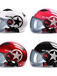 Недорогие -мотоциклетный шлем скутер велосипед с открытым лицом половина бейсболка анти-уф защитная каска