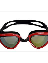 Недорогие -плавательные очки Водонепроницаемость Противо-туманное покрытие Регулируемый размер УФ-защита Поляризованные линзы По предписанию врача силикагель Поликарбонат белый серый черный