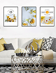 cheap -Framed Art Print Framed Set - Botanical Food PS Poster Wall Art
