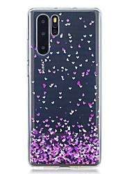 cheap -Case For Huawei Huawei P30 / Huawei P30 Pro / Huawei P30 Lite Pattern Back Cover Heart TPU