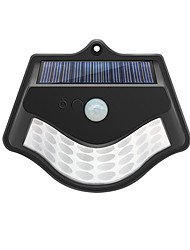 cheap -1pc 1 W Solar Wall Light Waterproof / Solar Powered / Infrared Sensor Warm White / Cold White 3.7 V Outdoor Lighting / Swimming pool / Courtyard 32 LED Beads