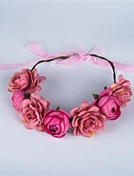 cheap -Alloy Headbands / Hair Accessory with Flower 1 Piece Wedding Headpiece