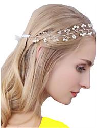 cheap -Imitation Pearl / Alloy Headbands with Imitation Pearl 1 Piece Wedding Headpiece