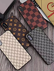 cheap -Case With Screen Protector For Apple iPhone 11 / 11 Pro /11 Pro Max Dustproof / Ultra-thin Back Cover Geometric Pattern PU Leather / PC for iPhone 7 / 7 P / 8 / 8 P/ 6 /6 Plus / X/XS/XR/XS MAX