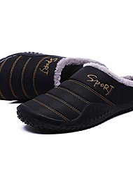 cheap -Men's Slippers House Slippers Casual Terry Shoes