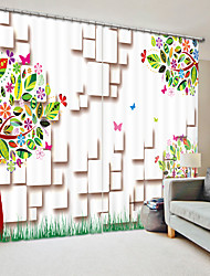 cheap -Children's Creative Painting 3D Background Digital Printing 3D Curtain Shading Curtain High Precision Back Silk Fabric High Quality Curtain