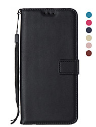 cheap -Case For Samsung Galaxy S9 / S9 Plus / S8 Plus Wallet / Card Holder / Flip Full Body Cases Solid Colored PU Leather / TPU