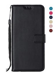 Недорогие -Кейс для Назначение Apple iPhone 11 / iPhone 11 Pro / iPhone 11 Pro Max Кошелек / Бумажник для карт / Флип Чехол Однотонный Кожа PU / ТПУ