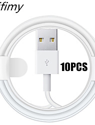cheap -Zfifimy 10PCS/LOT USB Cable For iPhone Charger Charging Cable XS MAX X XR 8 7 6 6S Plus  11 11 Pro Max For iPhone Lightning Cable Charger Cord