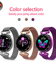 cheap -Smartwatch Digital Modern Style Sporty 30 m Water Resistant / Waterproof Heart Rate Monitor Bluetooth Digital Casual Outdoor - Golden Silver Blue