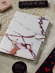 cheap -Adjustable Case For Apple / Samsung Galaxy / Huawei / Sony Xperi / Acer / Asus / Amazon / Lenovo Universal Wallet / Card Holder / with Stand Full Body Cases White Gold Marble PU Leather 9.4-10.5 Inch
