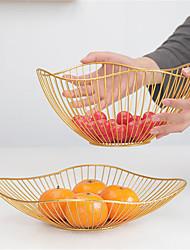 cheap -One Piece Desktop Basket Simple Snack Fruit Creative Basket