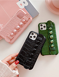 cheap -Apple Applicable to 11Pro Max Mobile Phone Case 11 Squid Pattern 11Pro Pearl Hand Strap XS Max Anti-fall 6/7/8Plus Protective Cover