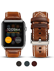 cheap -Watch Band for Apple Watch Series 5/Series 4 / Apple Watch Series 4/3/2/1 / Apple Watch Series 3 Apple Business Band Genuine Leather Wrist Strap