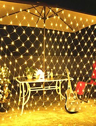 cheap -3M X2M 200Leds Home Outdoor Holiday Christmas Xmas Decorative Wedding Net Mesh String Fairy Curtain Garlands Strip Party Light