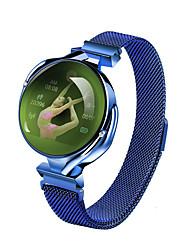 cheap -Women's Digital Watch Casual Fashion Blue Silver Gold Alloy Digital Gold Silver Blue Water Resistant / Waterproof Bluetooth Smart 30 m 1 set Digital