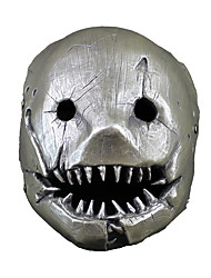 cheap -Mask Halloween Props Halloween Mask Inspired by Ghost Sillver Gray Gray Masks Halloween Halloween Men's Women's