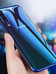 Недорогие -Кейс для Назначение SSamsung Galaxy Galaxy A50 (2019) / Samsung Galaxy A40 (2019) / Samsung Galaxy A70 (2019) Защита от удара / Покрытие / Ультратонкий Кейс на заднюю панель Прозрачный ТПУ