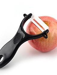 cheap -Kitchen Peeler Parer Black Ceramic Safe Washable Durable Household Apple Scraping Fruit Paring