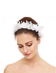 cheap -Crystal / Imitation Pearl / Rhinestone Headbands with Rhinestone / Crystal / Imitation Pearl 1 Piece Wedding Headpiece