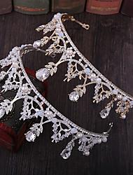 cheap -Alloy Tiaras / Headpiece with Metal / Crystals / Rhinestones 1 Piece Wedding / Party / Evening Headpiece