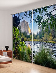 cheap -Shanxiaxiaoxi Digital Printing 3D Curtain Shading Curtain High Precision Black Silk Fabric High Quality Curtain