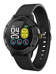 cheap -Smartwatch Digital Modern Style Sporty Silicone 30 m Water Resistant / Waterproof Heart Rate Monitor Bluetooth Digital Casual Outdoor - Black Red Gray