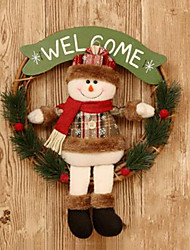 cheap -Christmas Decorations Christmas Figurines Christmas Toy Elk Snowman Furnishing Articles Wooden Toy Gift