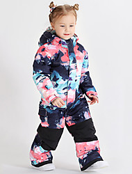 cheap -GSOU SNOW Boys' Ski Suit Waterproof Windproof Warm Wearable Winter Tracksuit for Skiing Camping / Hiking Winter Sports / Girls' / Kids