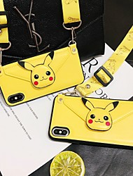 cheap -Mobile Phone Shell Wallet Integrated Messenger Huawei Mate30 Pro Coin Purse Protective Cover P20 Backpack Mate20 Cartoon P30 Hanging Neck Lanyard Nova5 Tide Honor20
