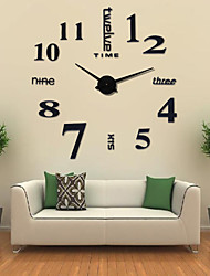 "cheap -Wall Clock,Fashion DIY Acrylic Round Indoor 102*105cm (40""*41"")"