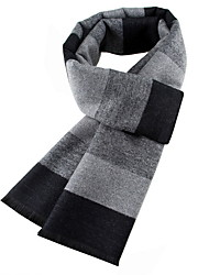 cheap -Men's Basic Rectangle Scarf - Striped