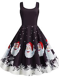 cheap -Audrey Hepburn Dress Adults' Women's Retro Vintage Christmas Christmas Festival / Holiday Polyester Dark Purple Women's Carnival Costumes