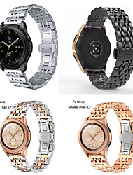 cheap -Apply the samsung Galaxy watch Active seven bead steel belt hook stainless steel strap