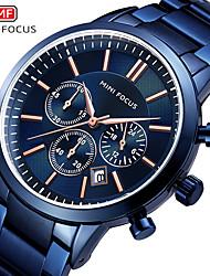 cheap -Men's Dress Watch Quartz Formal Style Modern Style Black / Blue 30 m Water Resistant / Waterproof Casual Watch Large Dial Analog Classic Fashion - Black Black / White White / Blue