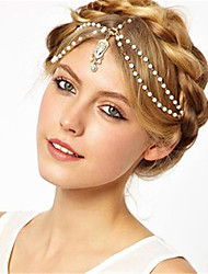 cheap -Alloy Headbands / Headpiece / Hair Clip with Flower Comb 1 Piece Wedding / Anniversary Headpiece
