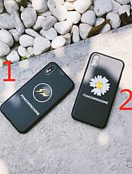 Недорогие -Кейс для Назначение Apple iPhone 11 / iPhone 11 Pro / iPhone 11 Pro Max IMD / С узором Кейс на заднюю панель Слова / выражения / Цветы ТПУ