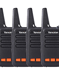 cheap -Parent-child Outdoor Self-driving Hotel Ultra-thin Mini Walkie-talkie Available For Ktv 4 Pirces