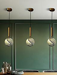 cheap -1-Light 15 cm Pendant Light Aluminum Glass Traditional / Classic / Nordic Style 110-120V / 220-240V