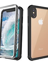 cheap -Case For Apple iPhone 11 / iPhone 11 Pro / iPhone 11 Pro Max Shockproof Back Cover Solid Colored Silica Gel / Aluminium