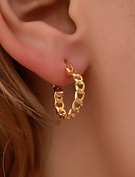 cheap -Women's Earrings Hollow Out Ball Earrings Jewelry Gold / Silver For Holiday 1 Pair