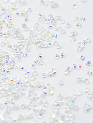 cheap -14400 pcs Crystal / Color-Changing Crystal / Rhinestone Nail Jewelry Rhinestones For Finger Nail Jewelry Series Star nail art Manicure Pedicure Christmas / Special Occasion / Halloween Sweet